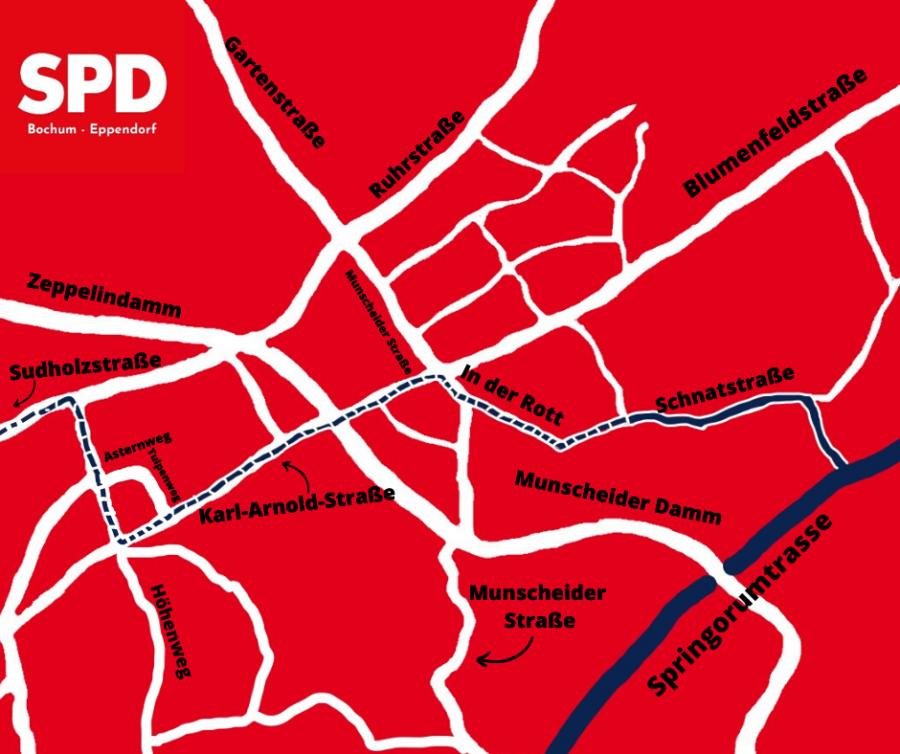 Neuer Radweg für Eppendorf